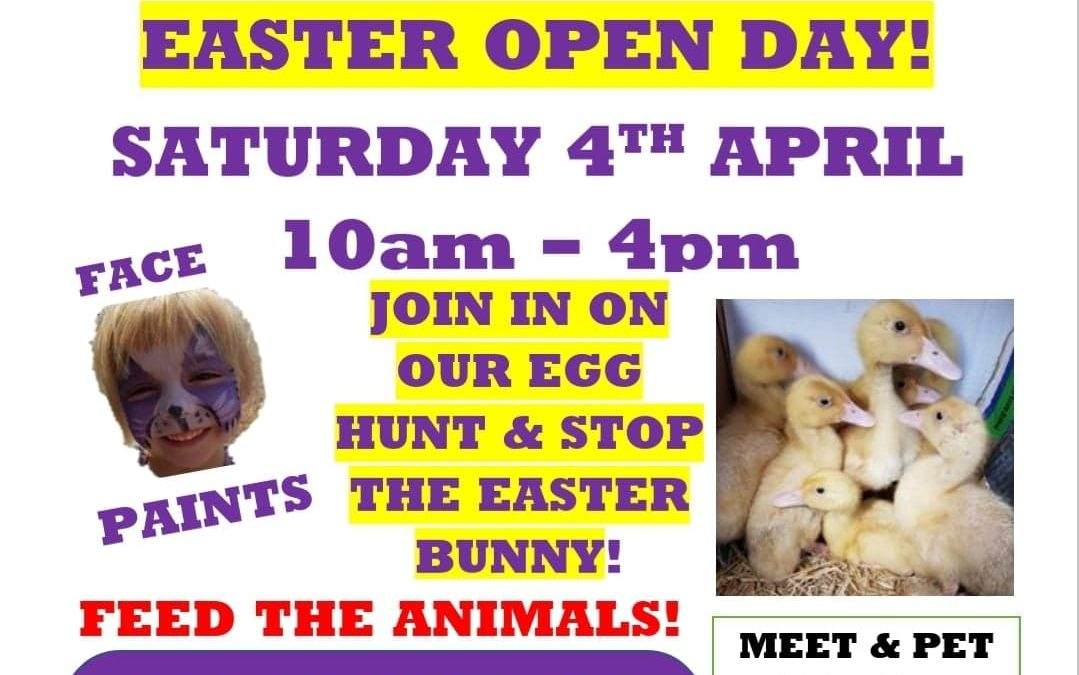 EASTER OPEN DAY
